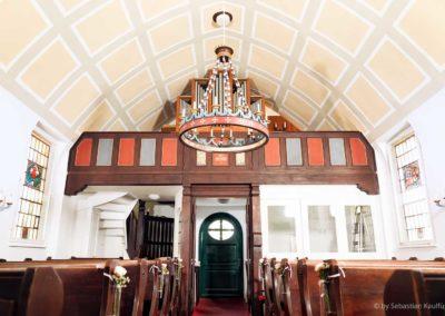 Innenraum der Kapelle Oberbärenburg
