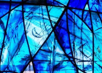 Fensterkunst in der Kirche Altenberg