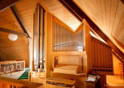 Orgel der Altenberger Kirche
