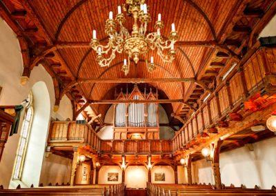 Innenraum der Kirche Fürstenau