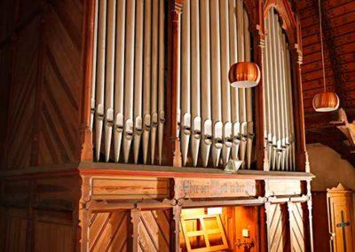 Orgel der Kirche in Fürstenau