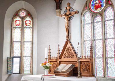 Altar in der Kirche Fürstenau