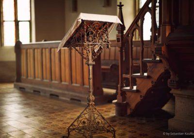 Lesepult der Kirche Fürstenau
