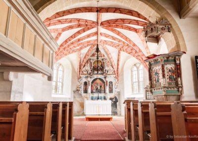 Innenraum der Kirche Fürstenwalde