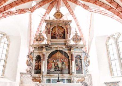 Alter der Kirche Fürstenwalde