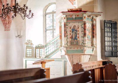 Kanzel der Kirche Fürstenwalde