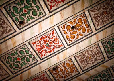 Deckenbemalung in der Kirche Fürstenwalde