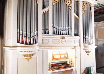Orgel der Kirche Fürstenwalde