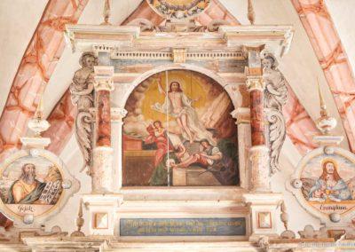 Der auferstandene Jesus - Altar der Kirche Fürstenwalde