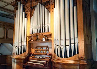 Orgel der Kirche Liebenau