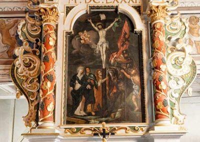 Altar der Kirche Schellerhau